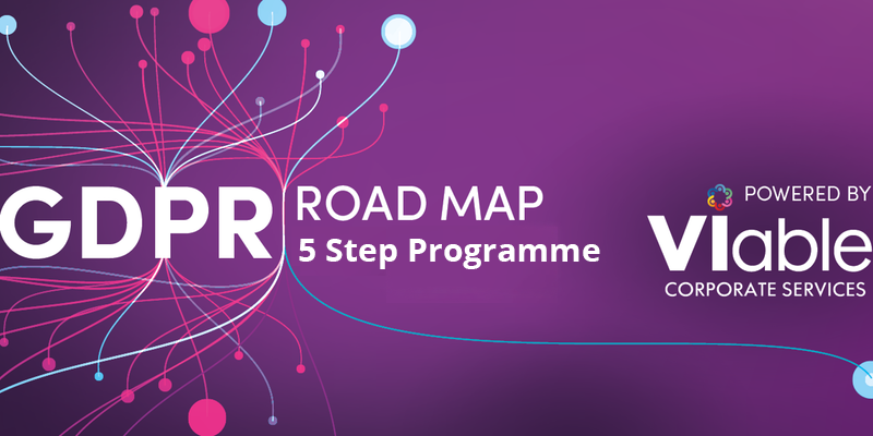 VIable's 5 step GDPR Roadmap Programme