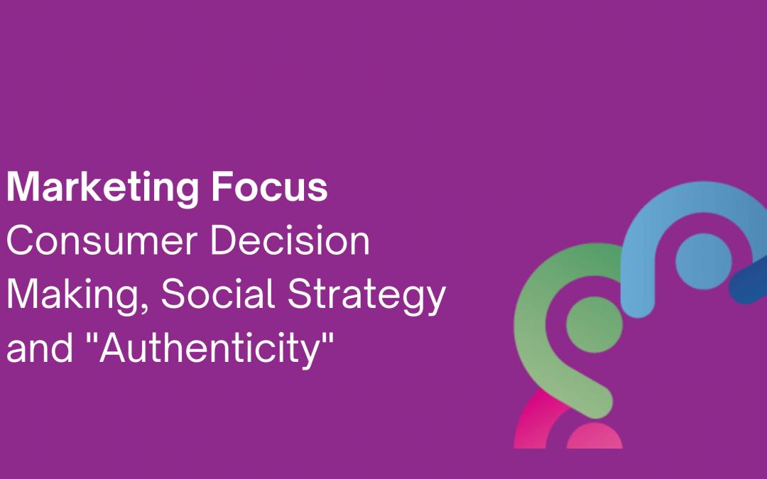 Consumer Decision Making and Social Media