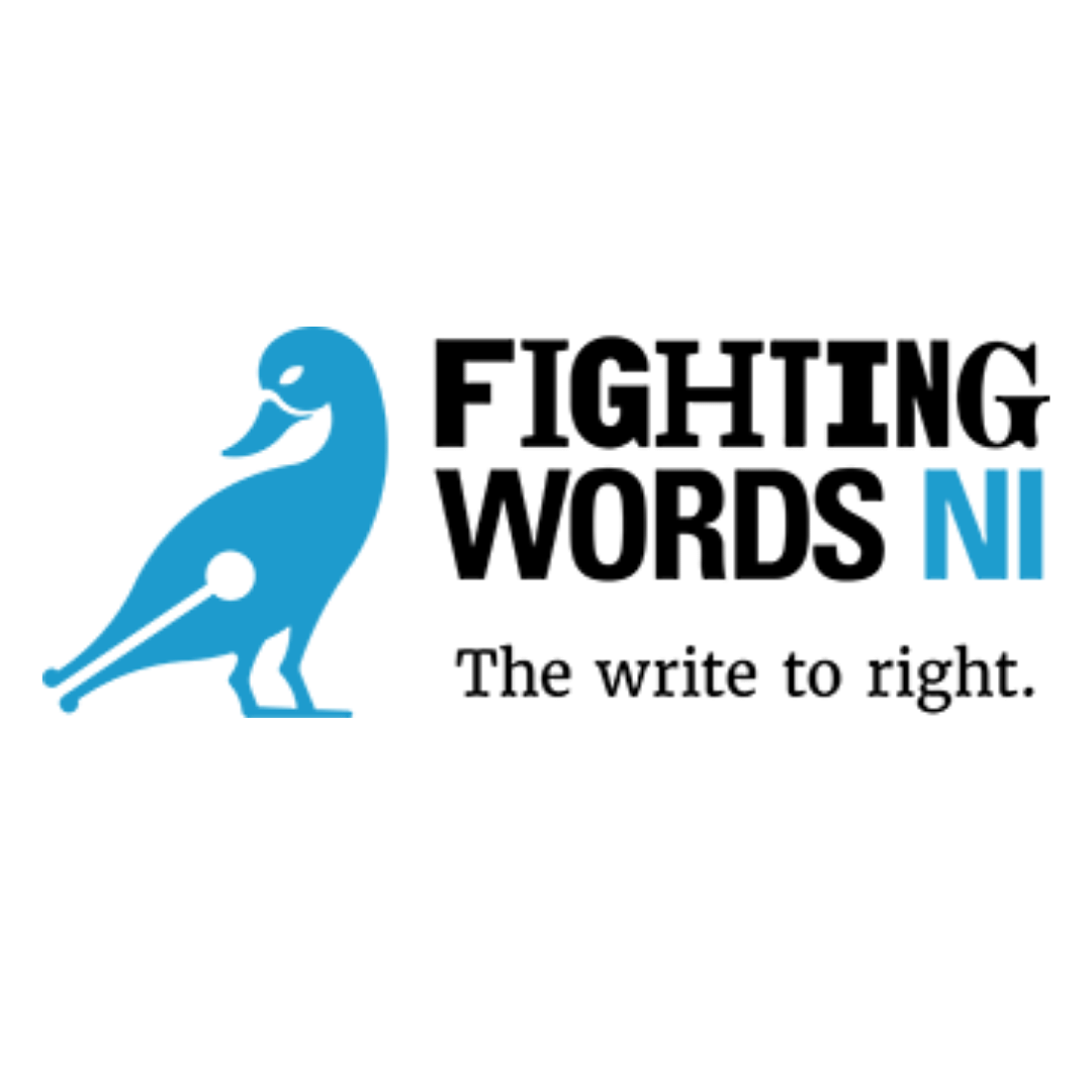 Fighting words NI logo, click here to visit their website