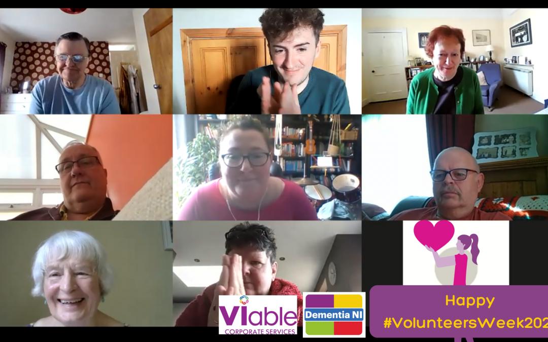 Dementia NI and VIableCS – Happy #VolunteersWeek